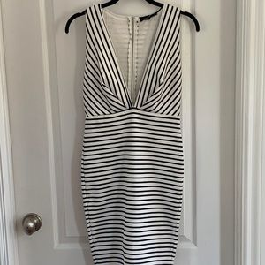 NWOT Olivaceous Striped Dress